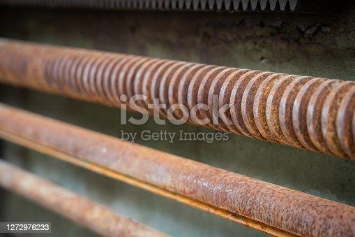 Old Machine Drive Rod