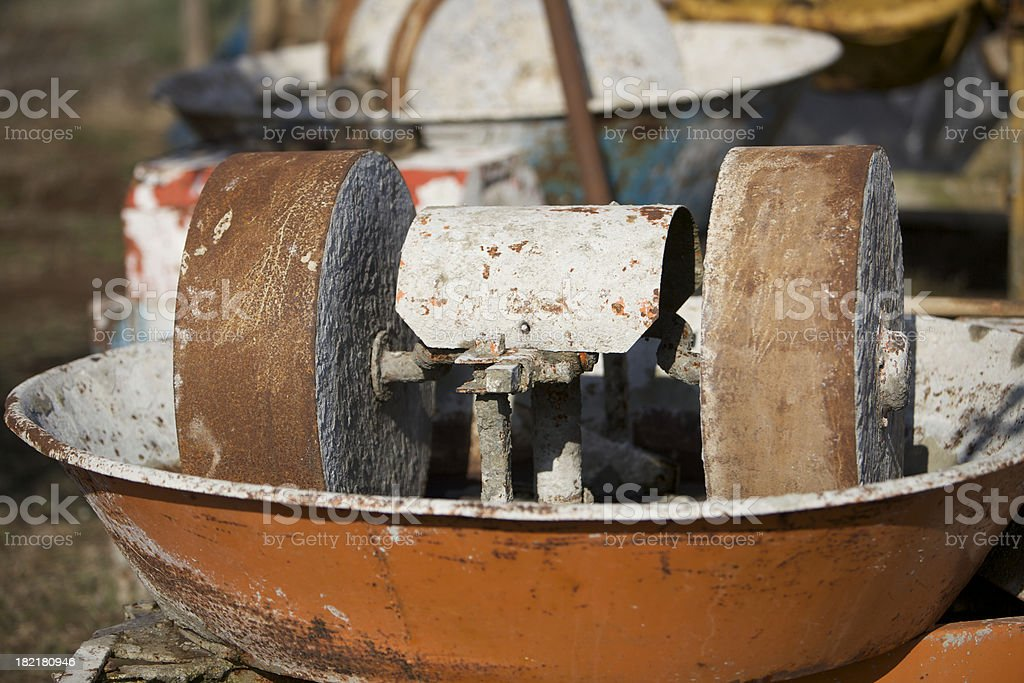 Old machine royalty-free stock photo