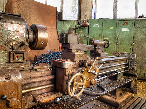 Old machinery stock photo