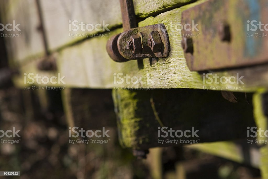 Old machinery royalty-free stock photo