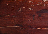 Old mahogany wood with crack paint texture