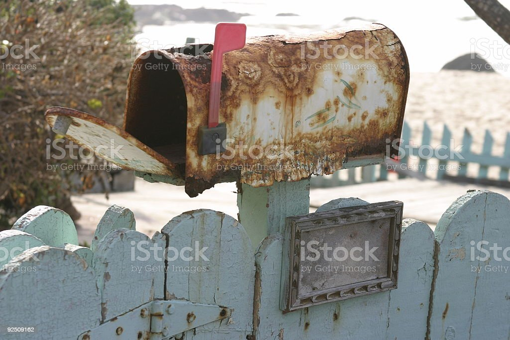 Old Mail Box #5 royalty-free stock photo