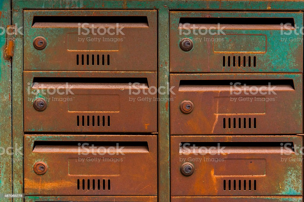 Old -mail stock photo