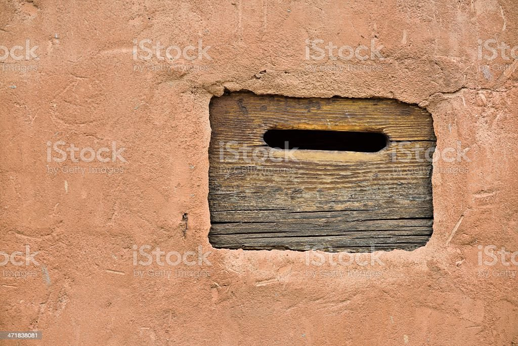 Old Mail Slot (XXXL) stock photo