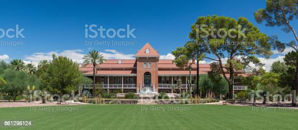 Old Main Building At The University Of Arizona Stock Photo - Download Image Now