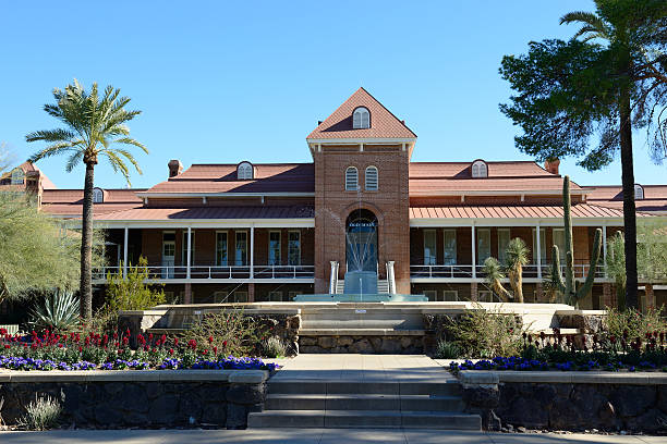Old Main building in University of Arizona