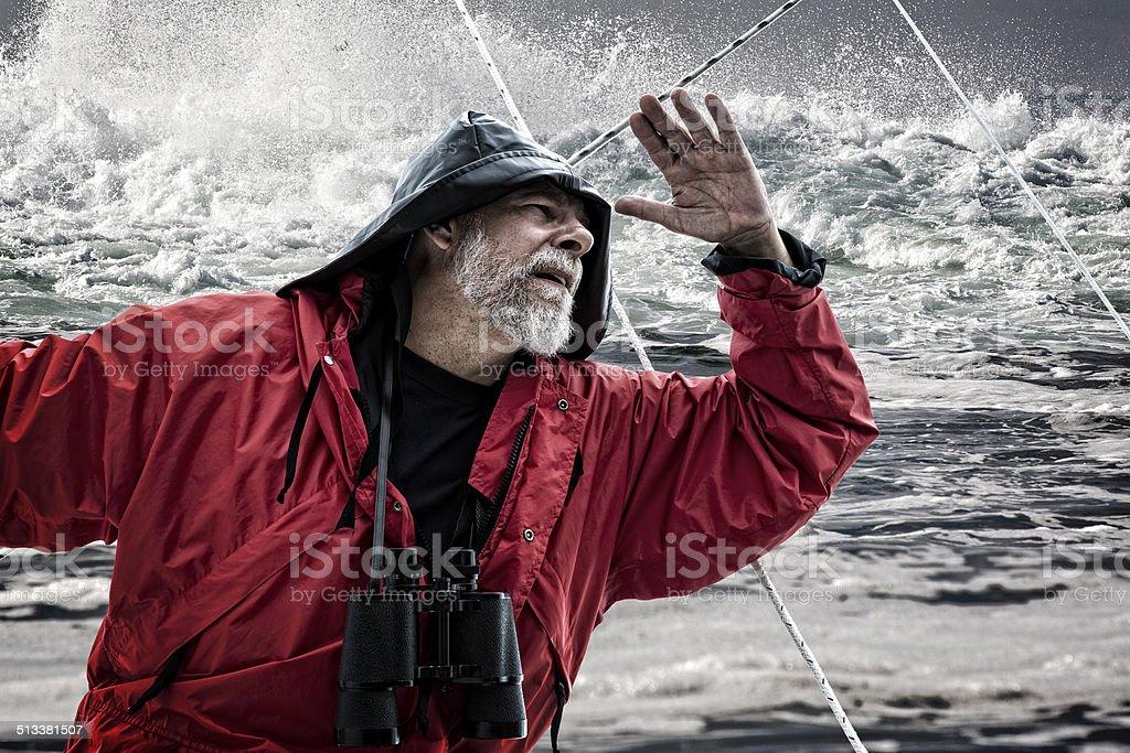 Vieil homme et la mer - Photo