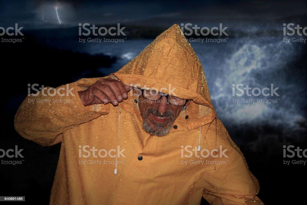 Velho Homem e o mar - foto de acervo