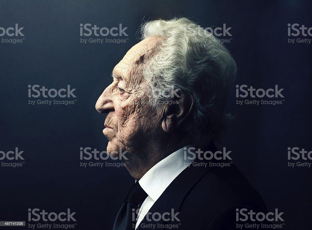 Alter Mann Gesicht – Foto