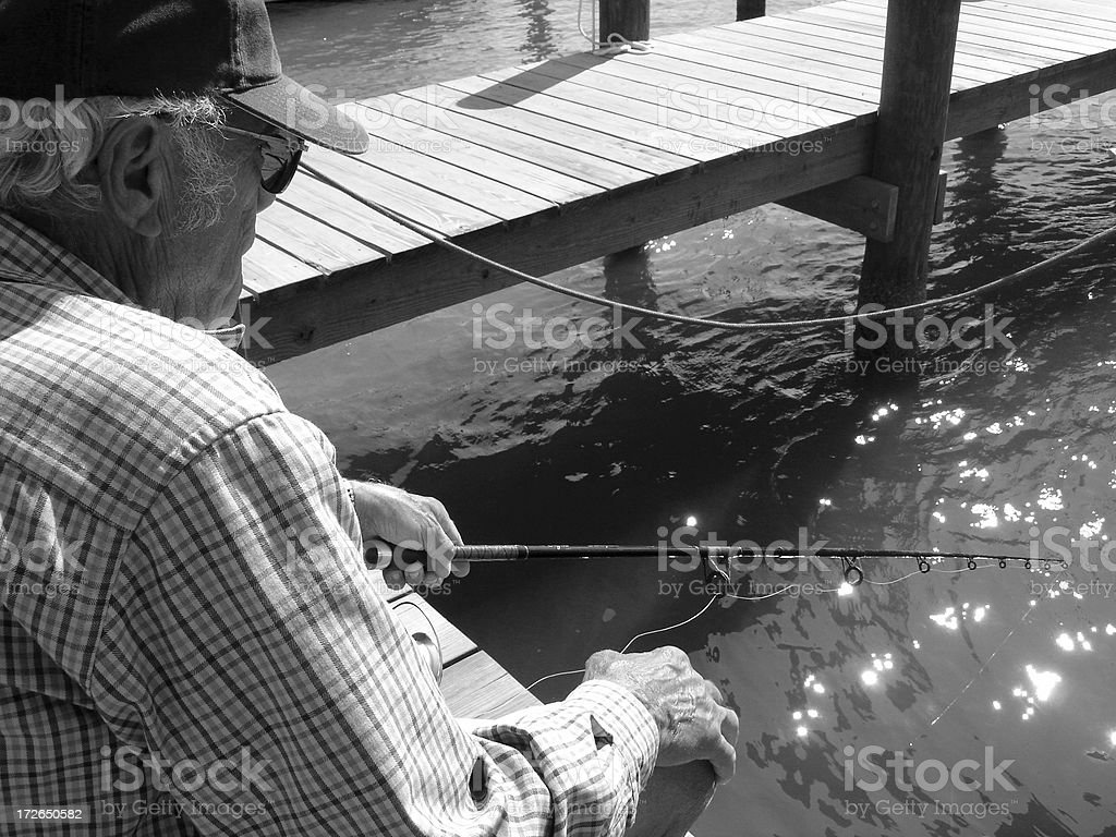 Old Man of the Sea royalty-free stock photo