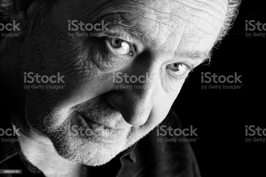 old man royalty-free stock photo