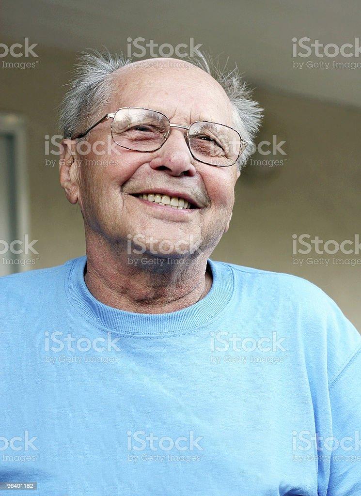 Old man smiling - Royalty-free Active Seniors Stock Photo