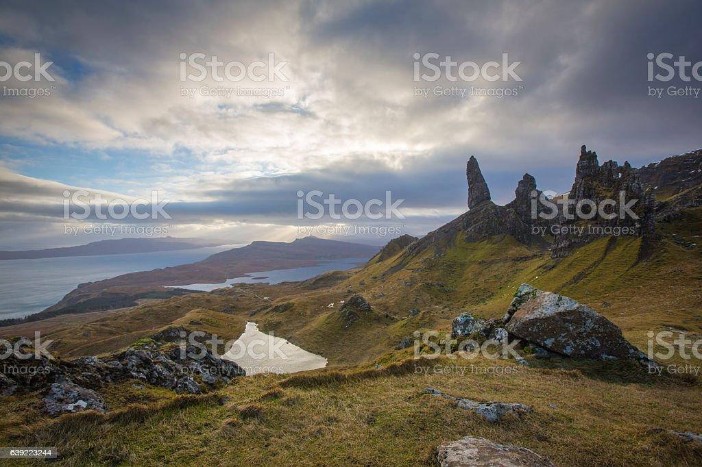 Old Man Storr - Isle of Skye stock photo