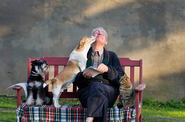 Old man with pets picture id453936041?b=1&k=6&m=453936041&s=612x612&w=0&h=xxuk3cvy3ur4tiozah vhia b s9zmjqtijrhutssrs=
