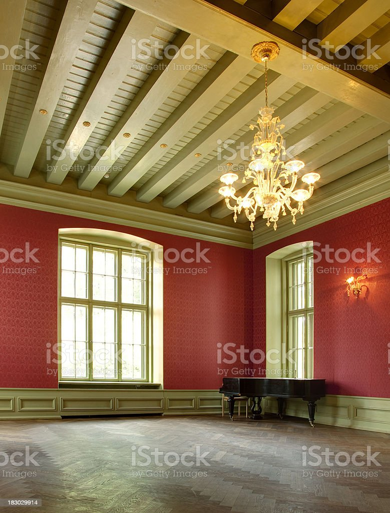 old manor house royalty-free stock photo