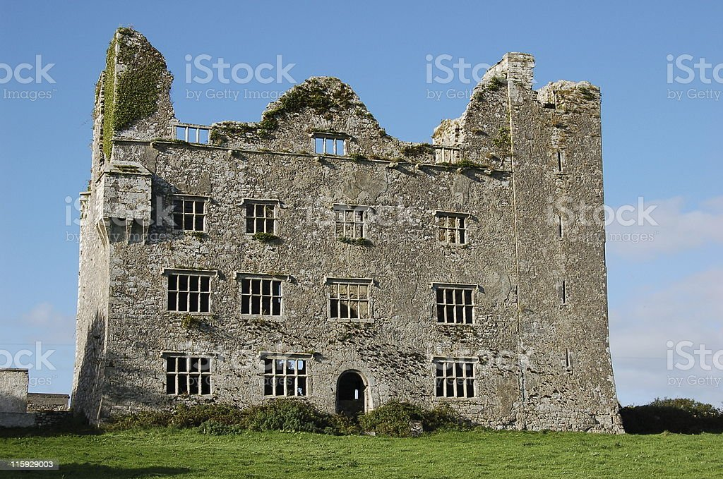 Old mansion royalty-free stock photo