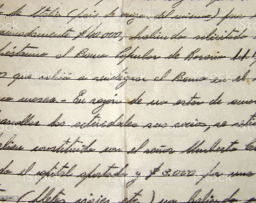 Old Manuscript background royalty-free stock photo