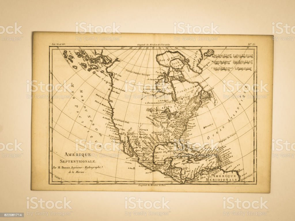 Old Map America Stock Photo - Download Image Now - iStock