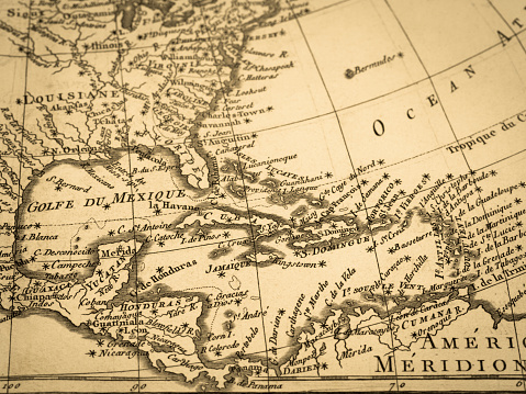 I shot the original old map created in 1775. I own the map.