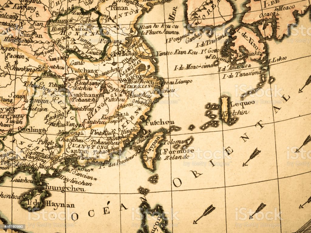 Old map east asia stock photo more pictures of 18th century istock old map east asia royalty free stock photo publicscrutiny Gallery