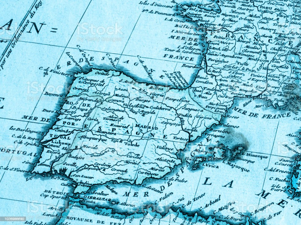 Old Map Iberia Peninsula Stock Photo - Download Image Now - iStock Iberia Map on spain map, portugal location on map, ural mountains map, herculaneum map, latin map, spanish language, mediterranean map, austria map, scandinavian peninsula, strait of gibraltar, spanish inquisition, poland map, iberian peninsula map, black sea, rock of gibraltar, italian peninsula, roman empire map, european map, arabian peninsula, the british isles map,