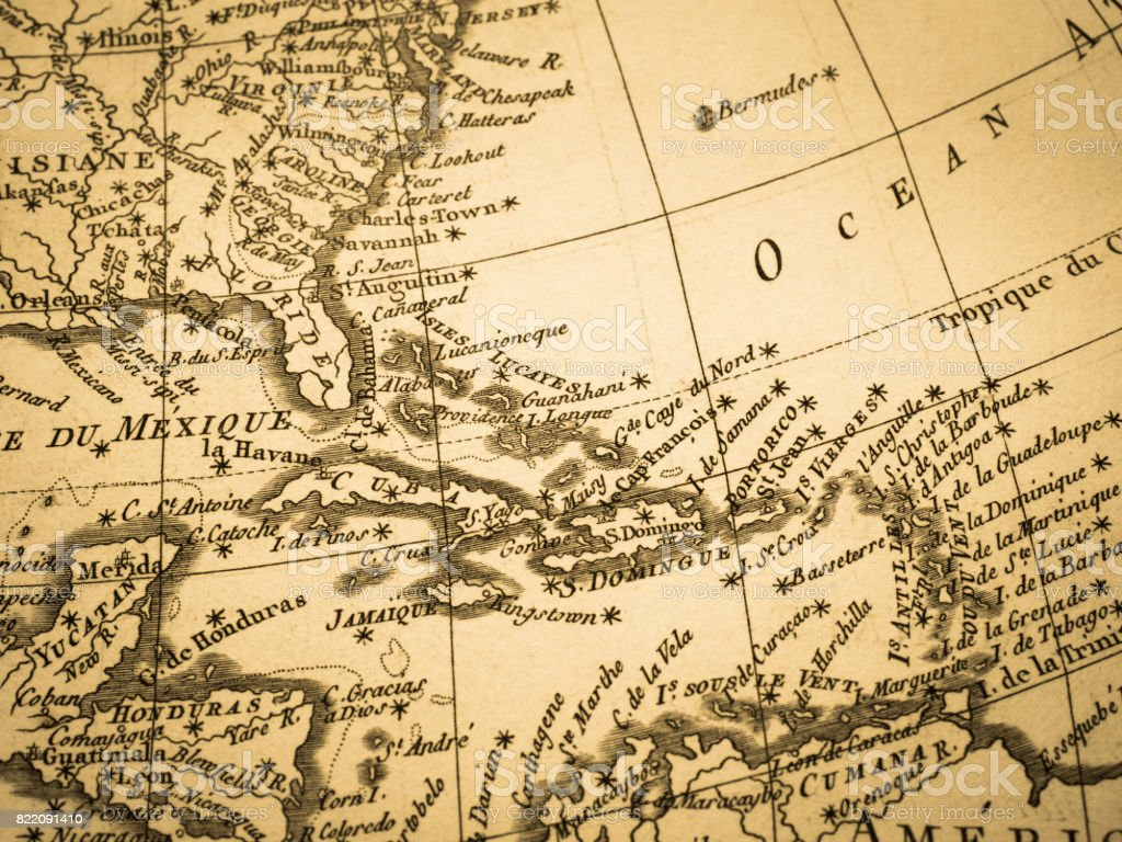 Old map latin america stock photo more pictures of 18th century old map latin america royalty free stock photo gumiabroncs Images