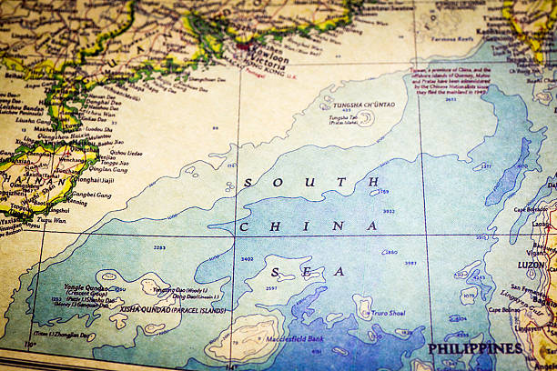 Royalty free south china sea pictures images and stock photos istock old map of south china sea stock photo gumiabroncs Images