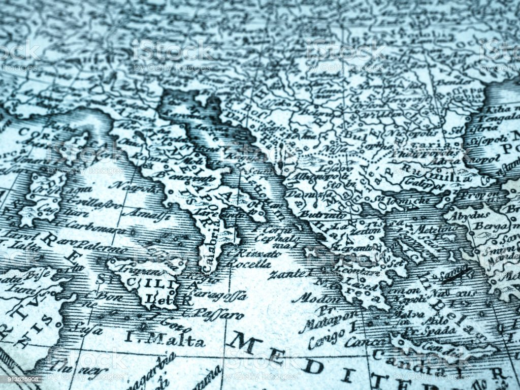 Old map of southern europe stock photo more pictures of 18th old map of southern europe royalty free stock photo gumiabroncs Image collections