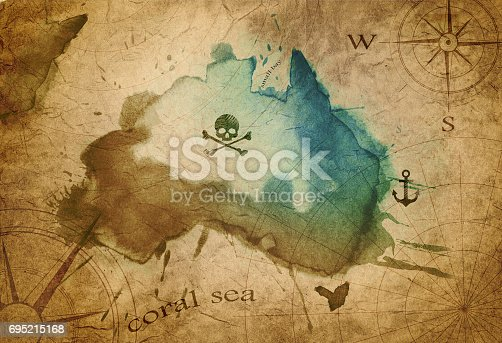 istock old map parchment 695215168