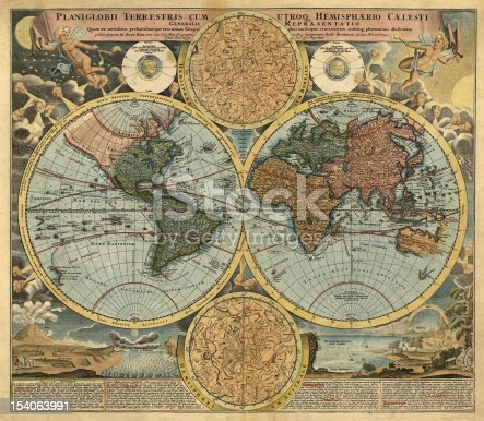 istock Old map 154063991