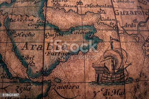 istock Old Map 518404457