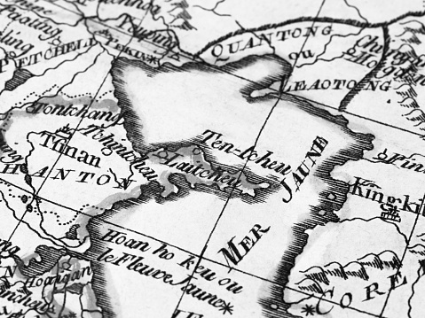 Old Map Yellow Sea Stock Photo - Download Image Now Yellow Sea Map on gulf of thailand map, baltic sea, white sea, pacific ocean map, gulf of guinea map, east china sea, yalu river map, beijing map, korean peninsula, mediterranean sea, bay of bengal map, barents sea, huang he map, adriatic sea, cape of good hope map, mekong map, coral sea, aegean sea, yellow river, indian ocean map, dead sea, north sea, suez canal map, south china sea, great dividing range map, sea of japan, persian gulf map, sea of okhotsk, red sea, plateau of tibet map, nile river map, caspian sea, manchurian plain map, black sea, gobi desert map, chang jiang map, arabian sea,