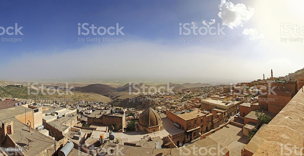 Old Mardin City royalty-free stock photo