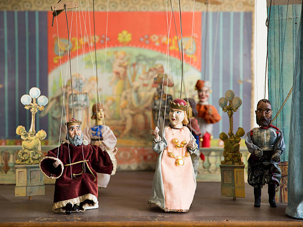 Old marionettes Old marionettes, Czech Republic puppet stock pictures, royalty-free photos & images