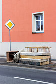 old mattresses, furniture and household items