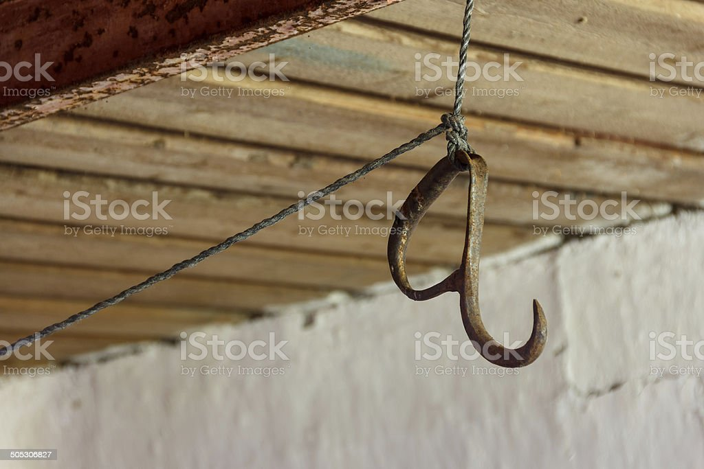 Old Fleisch hook – Foto
