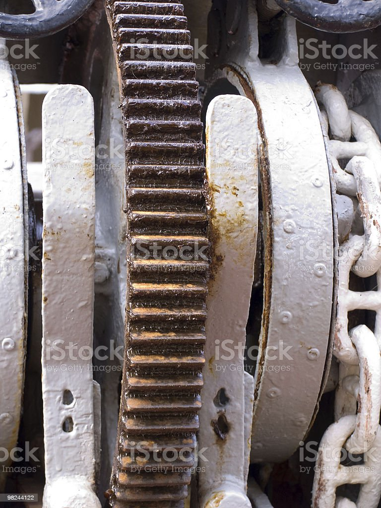 old mechanism royalty-free stock photo