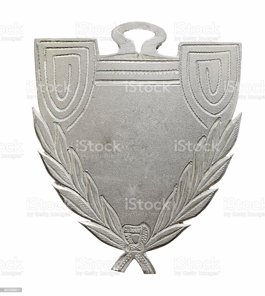 Old medal royalty-free stock photo