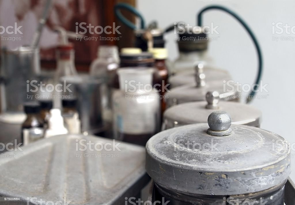 Old Medical Utensils royalty-free stock photo