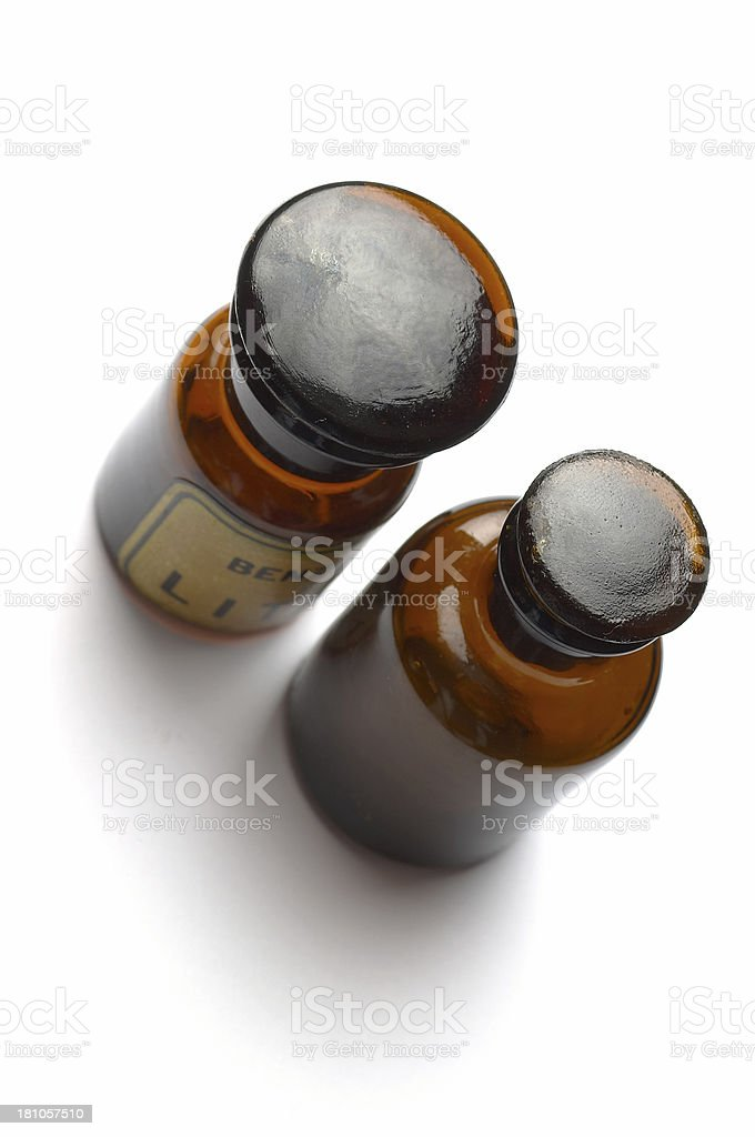 Old Medicine Bottle royalty-free stock photo