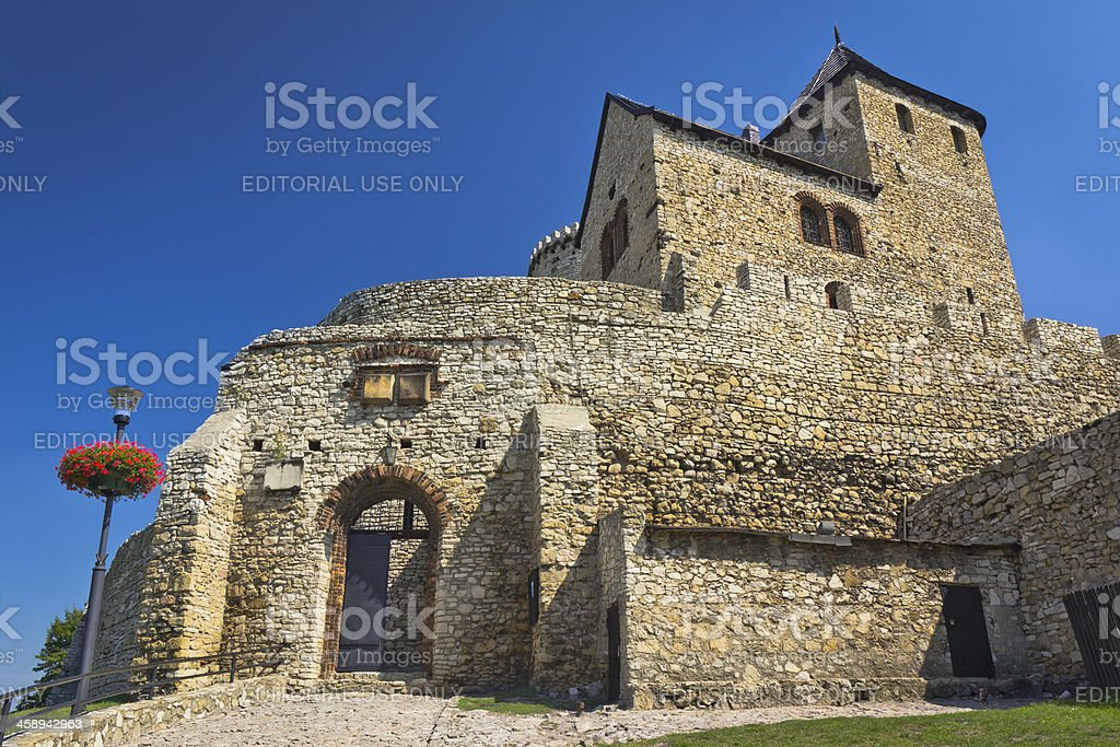 Old  medieval castle in Bedzin stock photo