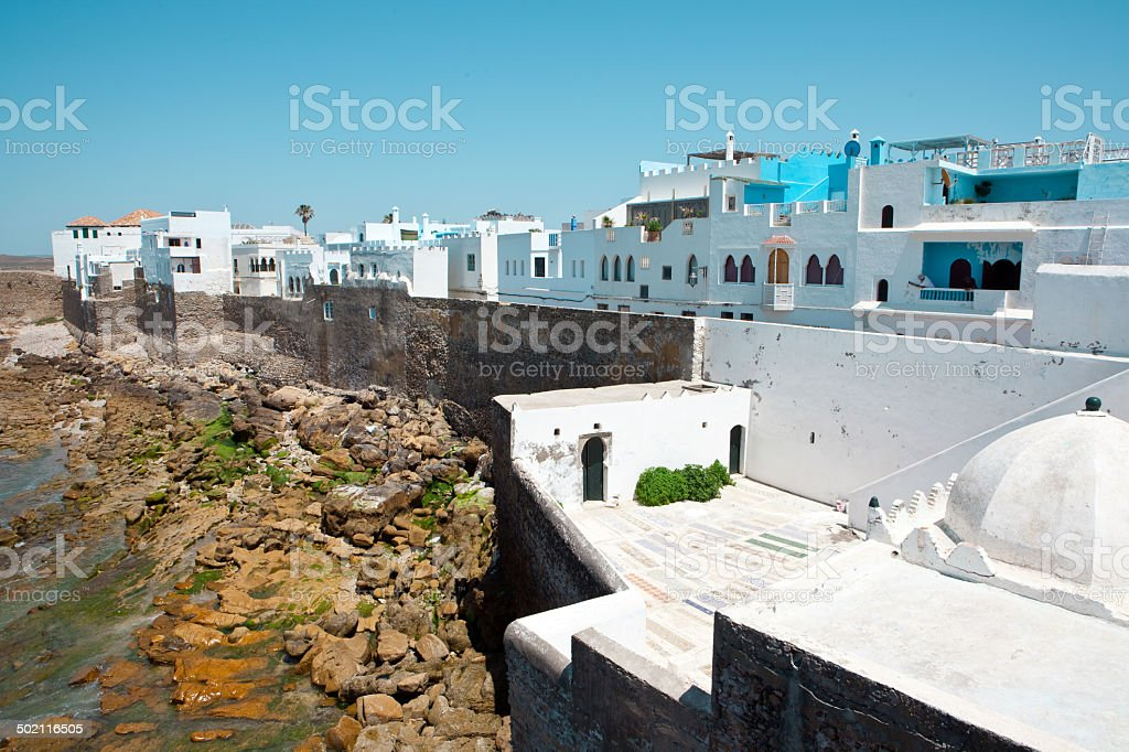 Old Medina-Assilah -Morocco royalty-free stock photo