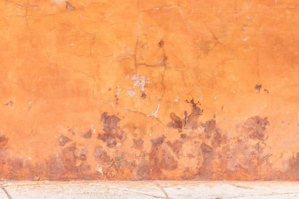Méditerranéenne de vieux stuc texture de fond de mur et chaussée - Photo
