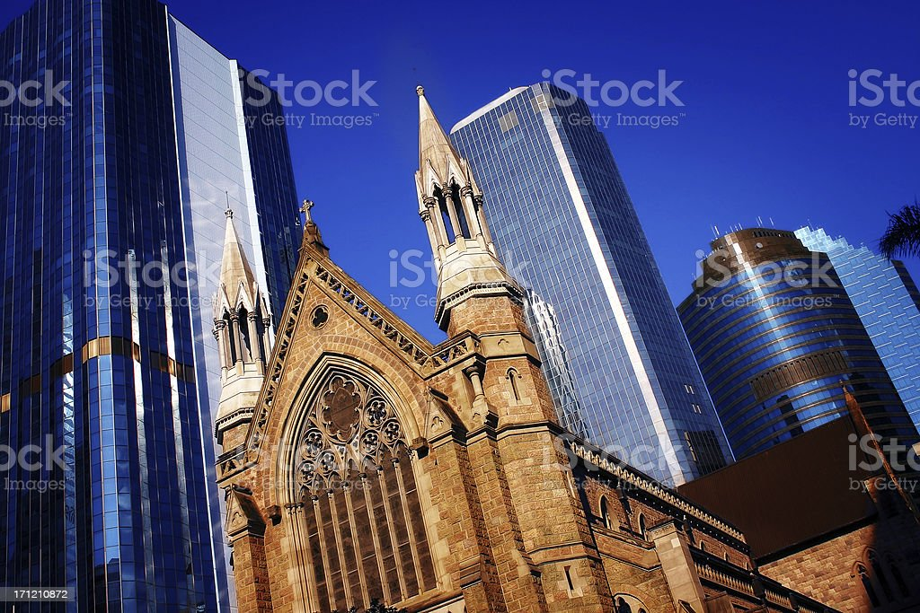 Old meets New royalty-free stock photo