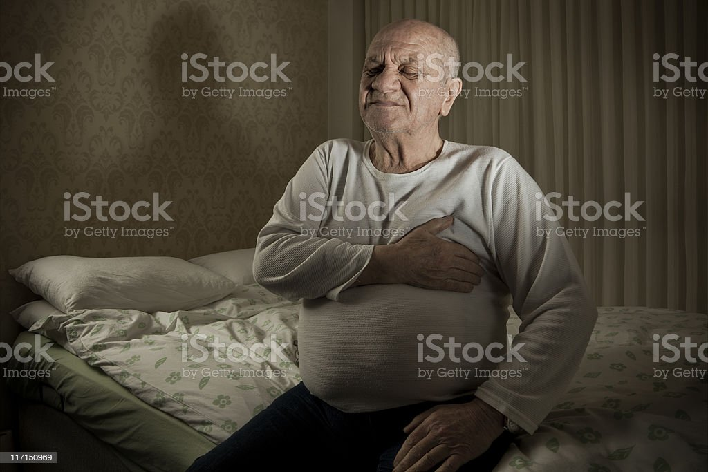 Old men royalty-free stock photo