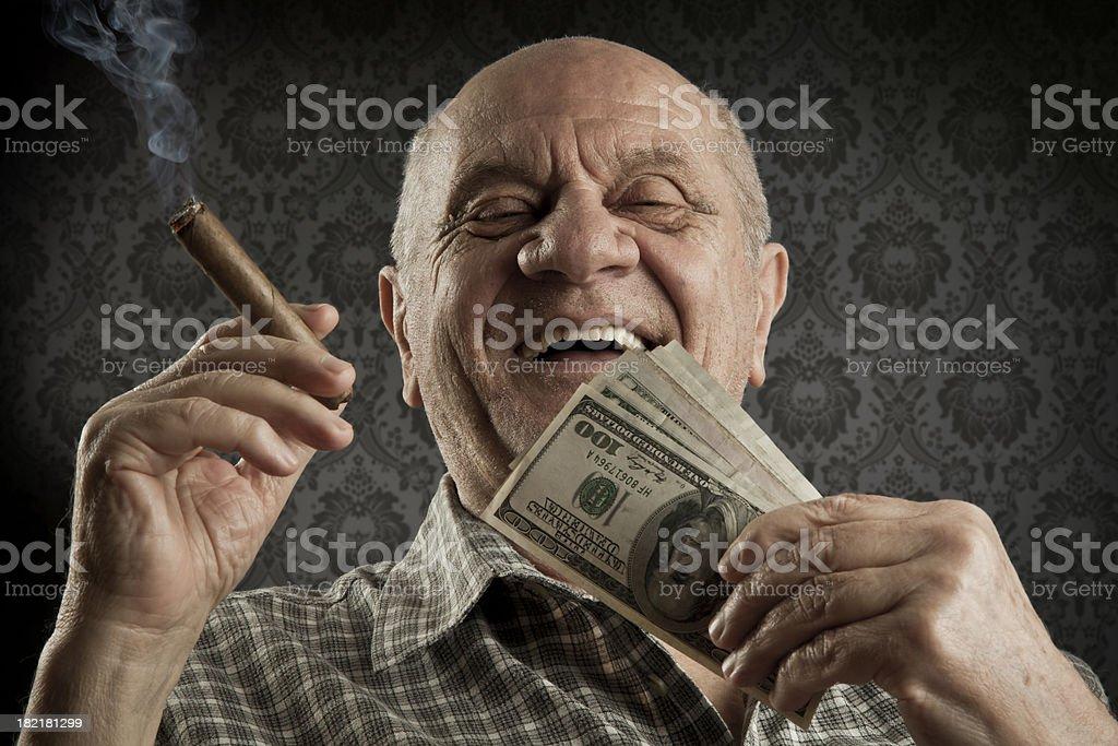 Old men stock photo