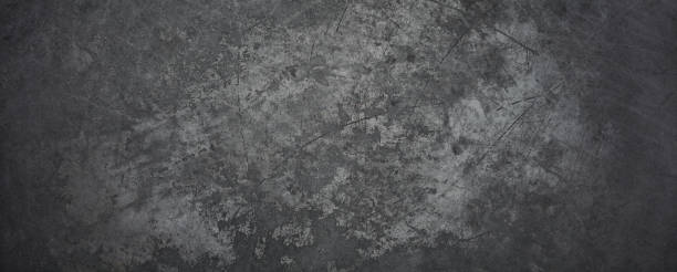 Old Metal Background - Texture Grunge Blackboard Scratched Vintage stock photo