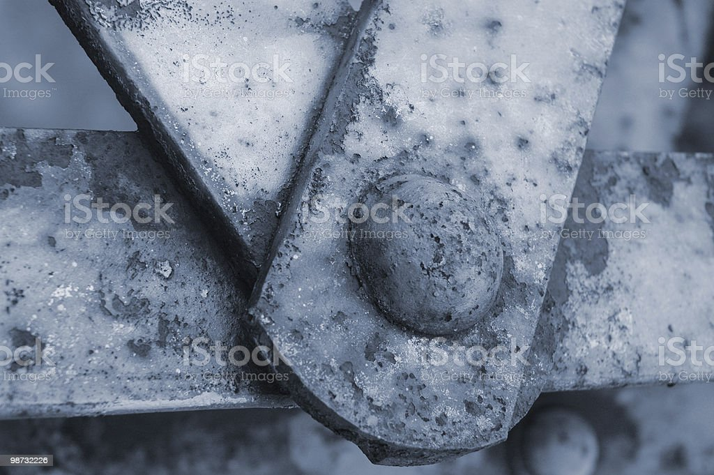 old metal bolts royalty free stockfoto