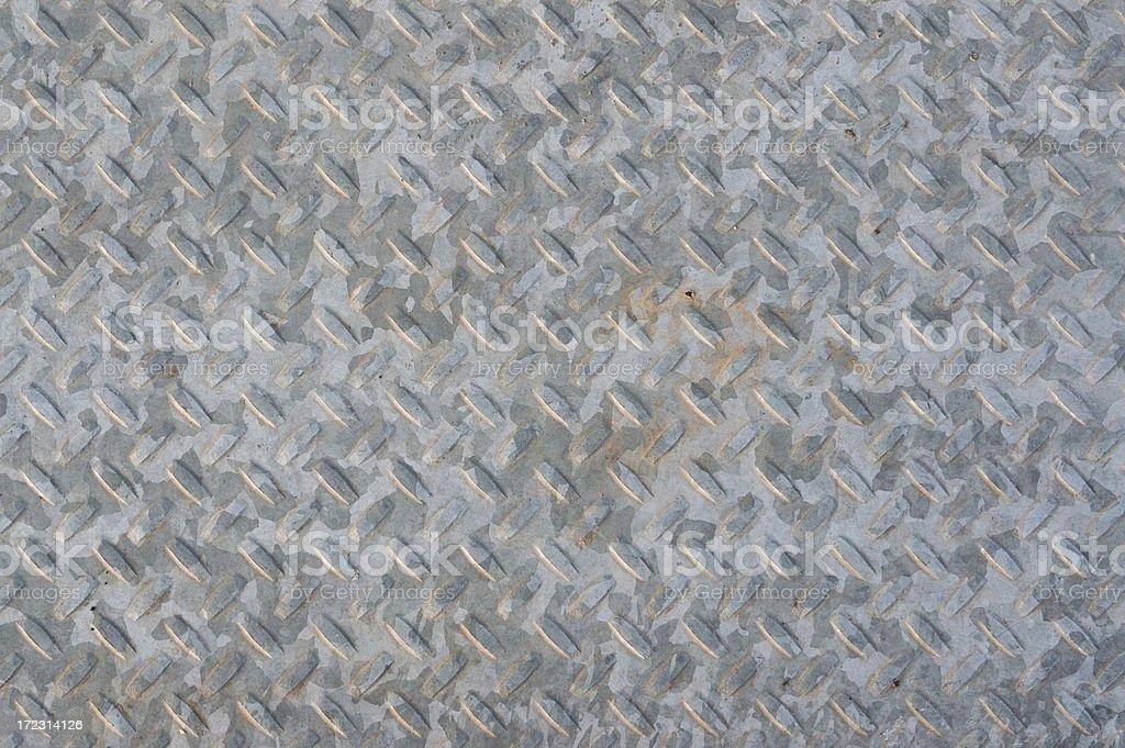 Old Metal Floor royalty-free stock photo