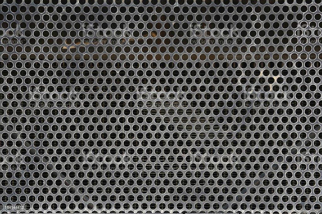 Old Metal Grid royalty-free stock photo